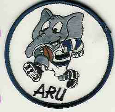 Auckland Rugby Union 8Cm Rugby Cloth Elephant Badge Patch