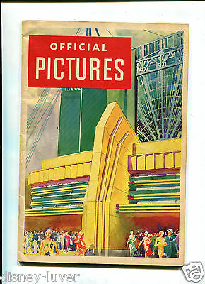 CENTURY OF PROGRESS 1933 Worlds Fair OFFICIAL PICTURES Book photos Chicago