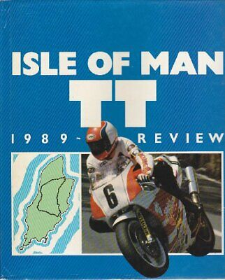 ISLE OF MAN TT REVIEW: 1989. by Pinchin, Gary. Book The Cheap Fast Free Post