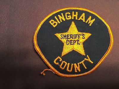 Bingham County Idaho Sheriff Shoulder Patch