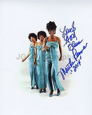 Martha Reeves and the Vandellas - Authentic Autographed 8x10 Photograph