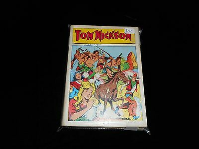 Tom Nickson album 2 contient Tom Nickson 7, 8, 9, 10, 11 Editions Mondiales 1958