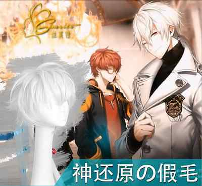 Anime Game Mystic Messenger ZEN Cosplay Harajuku Couples Unisex Curly Hair Wig