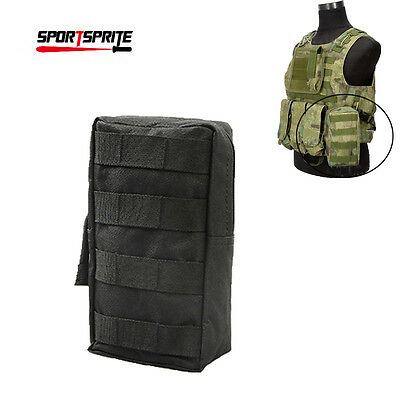 Tactical Molle Hunting Utility Tool Bag Accessory Vest Pouch Pack For Backpack