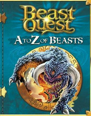 Beast Quest: a to Z of Beasts by Adam Blade (English) Hardcover Book Free Shippi