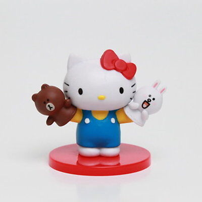 Toy Friend Sanrio Hello Kitty x Line Friends Figure Collection no1 Kitty