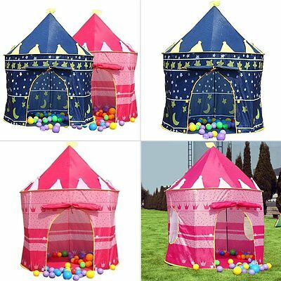 Princess Castle Childrens Indoor/Outdoor Use Girls Pink Toy Play Tent Playhouse
