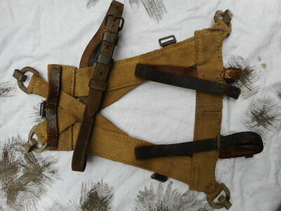 original GENUINE WW2 GERMAN ARMY heer WH ELITE A FRAME GEFECHTSGEPACK webbing