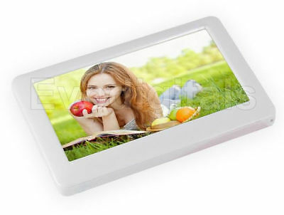 """New Silver 16Gb 4.3"""" Touch Screen Mp5 Mp4 Mp3 Player Direct Play Video + Tv Out"""