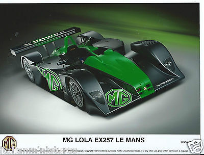 MG Lola EX257 Le Mans XPower Press Photograph RGS 0401 154
