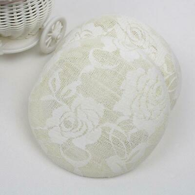 15cm Round Sinamay Button Fascinator Base Millinery Lace Flower Women Hat Base