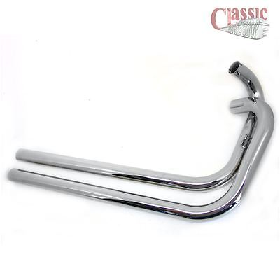 Triumph T120 T140 1 3/4 Inch Bore Exhaust pipes
