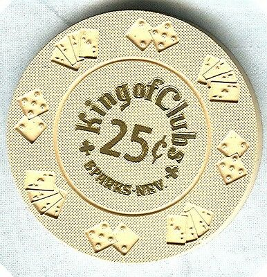 KING OF CLUBS CASINO (SPARKS) 25 CENT CHIP (BORLAND) (N0990) (SU).xls