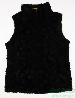 New Womens Sport Haley Golf Vest Small S Black MSRP $105