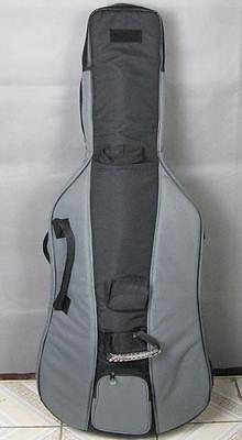 3/4 double bass soft bag with a great waterproof cloth,with bow case
