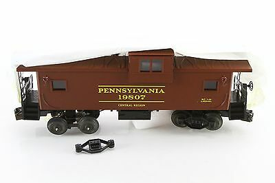 New! Lionel Electric Trains - 6-19807 Pennsylvania Extended Vision Caboose Smoke