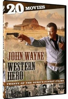 John Wayne: Western Hero - 20 Movie Collection [New DVD] Boxed Set