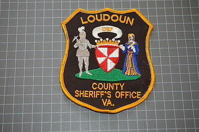 Old Loudoun County Virginia Sheriff's Department Patch (T3)