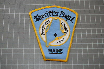 Old Penobscot County Maine Sheriff's Department Patch (T3)