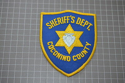 Old Coconino County Arizona Sheriff's Department Patch (T3)