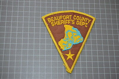 Old Beaufort County South Carolina Sheriff's Department Patch (T3)