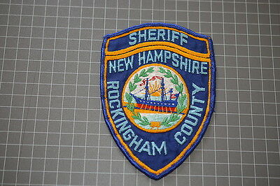 Old Rockingham County New Hampshire Sheriff Department Patch (T3)