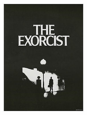 THE EXORCIST Original Warner Brothers Movie Theater Poster - 1973 MINT ROLLED!!!