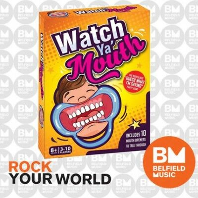 Watch Ya Mouth - The Authentic, Hilarious, Mouthguard Party Game - BNIB - BM