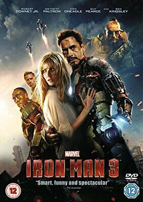 Iron Man 3 [DVD] - DVD  Z8VG The Cheap Fast Free Post