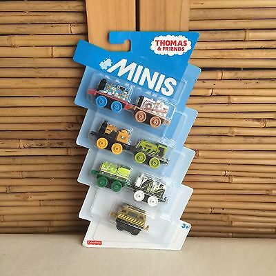 THOMAS and FRIENDS Mini TRAINS Salty, Stephen, Scruff, Bill,Stanley, Diesel 10