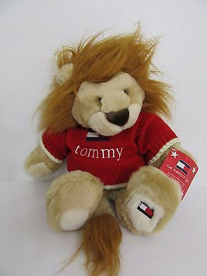 Tommy Hilfiger Lion Soft Plush Toy Doll 2001 Tommy Sweater With Tag 15""