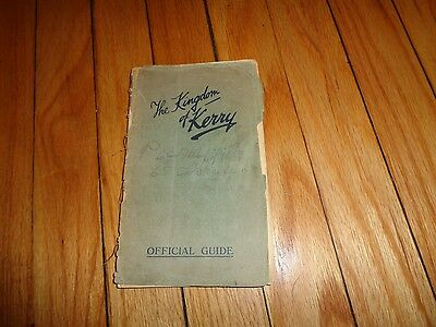 The Kingdom of Kerry Ireland Irish Travel Guide Vintage Killarney