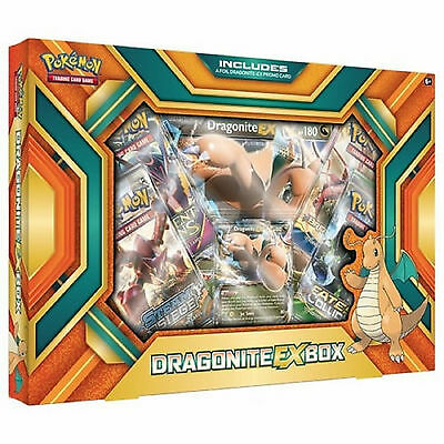 Pokemon XY Dragonite EX Collection Box: Booster Packs + Promo Cards