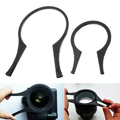 48-58mm/62-82mm Filter Wrench Spanner Camera Lens Filter Removal Tool Black