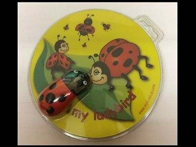 First Optical Mouse & Matching Mousepad Ladybird Motif - Ideal First Mouse
