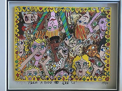 James Rizzi » Peek A Boo - See You«  Seltenes 3D  aus 1990