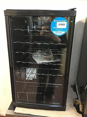 Candy CCV150BL Freestanding Wine Cooler - Black #97883