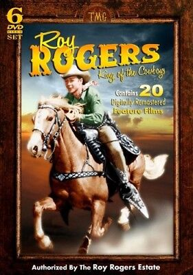 Roy Rogers: King of the Cowboys [6 Discs] DVD Region 1