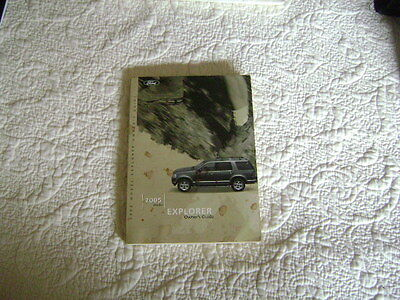 2005 ford explorer owners manual