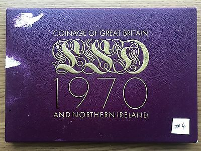 1970 Royal Mint Proof 8 Coin Collection - Original Sleeve & Cert UK/GB Year Set4