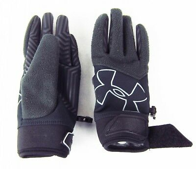 Under Armour Kids Size Small Medium Large ColdGear Infrared Storm Gusto Gloves