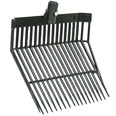 NEW Plastic Shavings Bedding Forks Replacement Spare Fork Head - Stable / Horse
