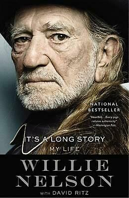 It's a Long Story: My Life by Willie Nelson (English) Paperback Book Free Shippi