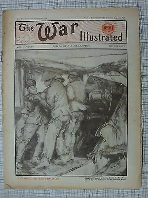 The War Illustrated, Great War # 211 (Chateau-Thierry, Western Front WW1, RNVR)