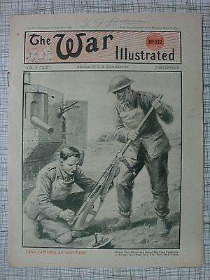 The War Illustrated, Great War # 212 (Chateau-Thierry, German Artillery, WW1 VC)