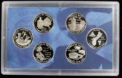 2009-S Proof Clad Quarter Set - Case Only - Best Value @ CherrypickerCoins