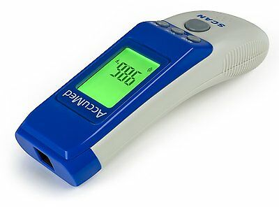 AccuMed AT2104 Non-Contact Instant-Read Handheld Infrared Medical Thermometer