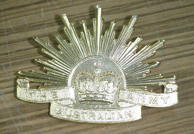 Australian Army Rising Sun Hat Badge