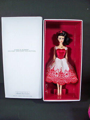 New Barbie Dolls 2014 Cupid's Kisses Holiday Hostess Collection Barbie Fan Club
