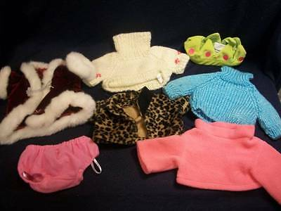 """Bears ~✿~ Lot of Clothes for Her 10-12"""" Bear D-14"""